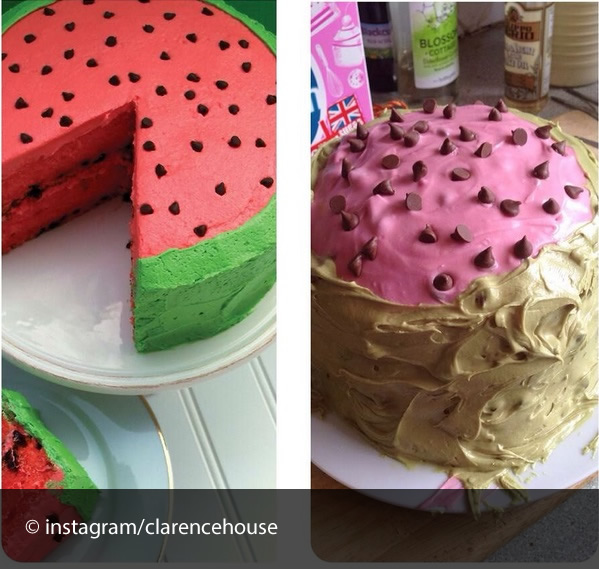 cake fail watermelon