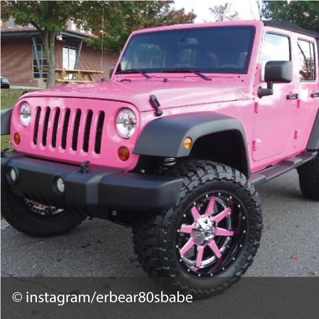 The Girliest Cars Of Instagram
