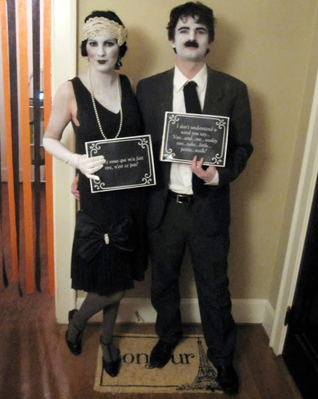Halloween silent movie stars