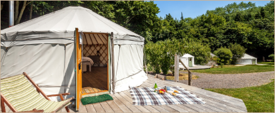 The Yurt Retreat - Somerset
