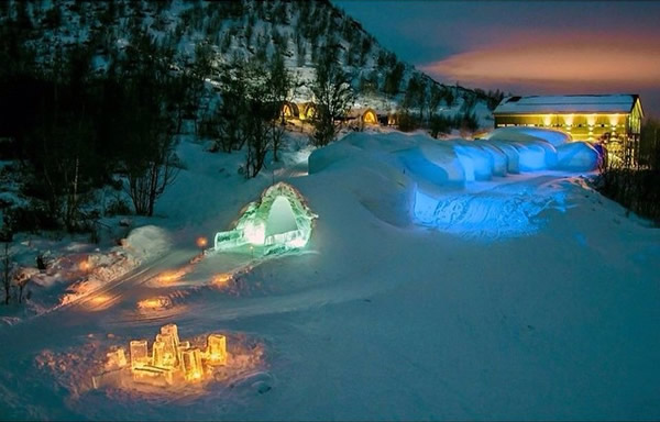Snow Hotel in Kirkenes, Norway