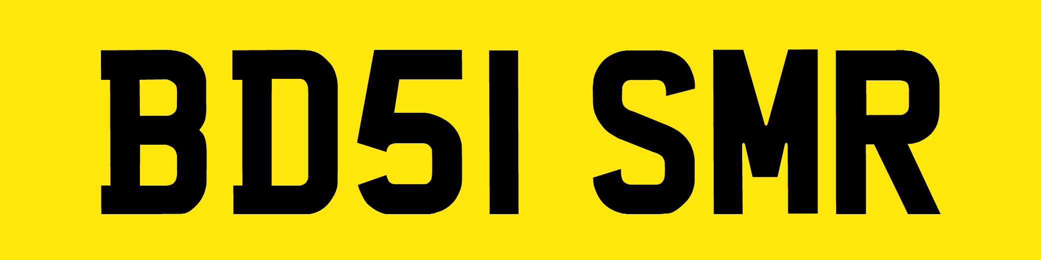 Registration plate rules
