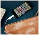 The handbag that's a phone charger
